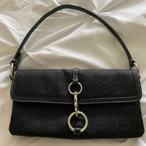 EUC Coach clutch pouchette purse
